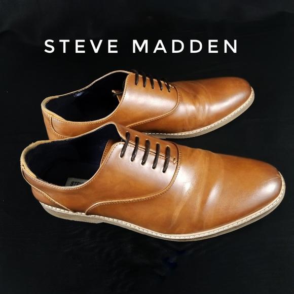 d695135676f Steve Madden Nunan Leather Oxfords Men's 9